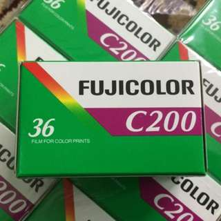 Fujicolor Fresh Film C200 ( Iso 200 ) Exp June 2018 *Sea* Ready Stock