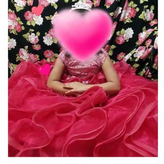 Pink Fushia Gown