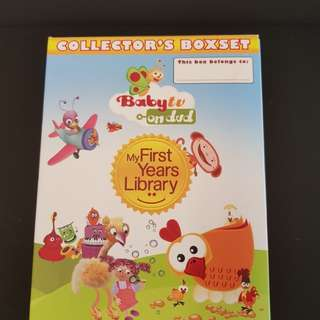 Baby on TV- My First Years Library DVD set