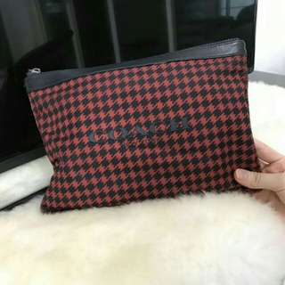 Coach authentic red black edition