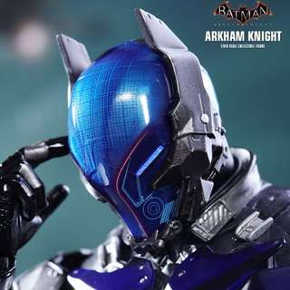 "玩具狂熱 Hot Toys VGM28 MMS DX12"" 蝙蝠俠 Batman ARKHAM KNIGHT Figure"