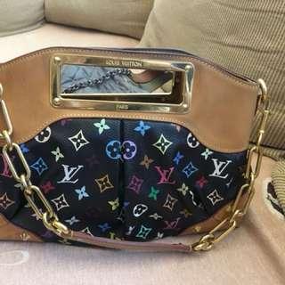 LV multicolor Judy bag