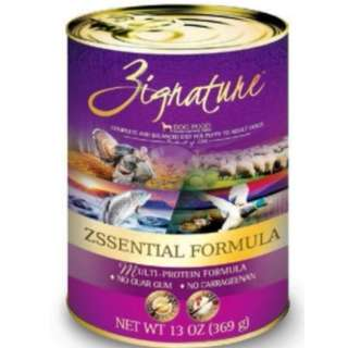 [ PET FOODIES ] ZIGNATURE DOG CANNED FOOD 359GM (12 CANS)