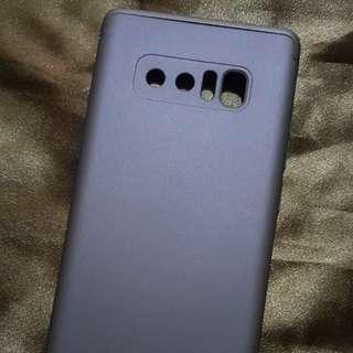 Note 8 Blue 360 Protection Case - Matte