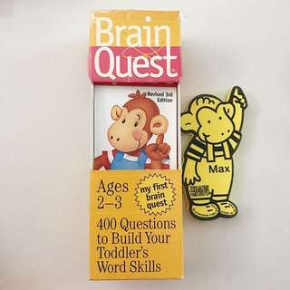 Brain Quest (2-3 years old)