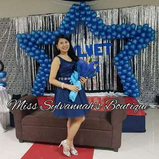 Navy Blue Gown for Rent
