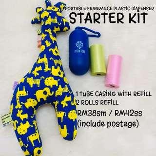 Plastik wangi starter kit