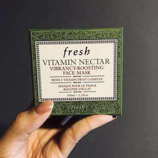 FAST DEAL! Fresh mask vitamin nectar