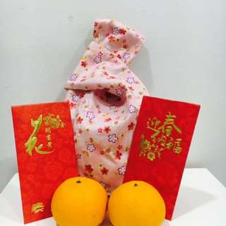 Orange bag/ lunch bag