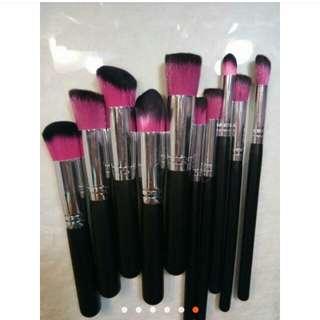 10pcs brush set