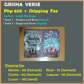 Grisha Verse by Leigh Bardugo