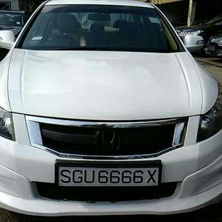HONDA ACCORD 2.4(A) 2008 BODYKIT
