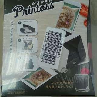 Takara Tomy Printoss(黑) - Takara Tomy Printoss 手提光學打印機