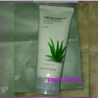 💕AUTH The Face Shop 365 Herb Day Cleansing Foam