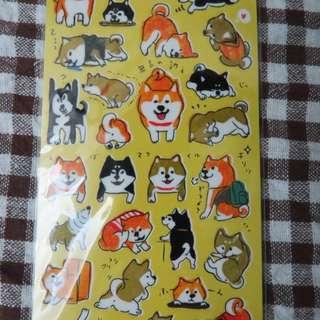 柴犬日本貼紙