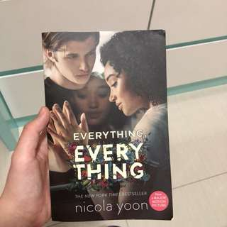 Everything, everything novel by nicola yoon
