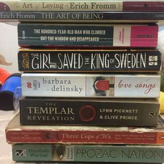 *MOVING OUT SALE* books books books