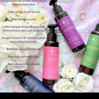 Wongi body lotion/moisturizer