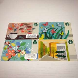 Starbucks Cards  #CNY88