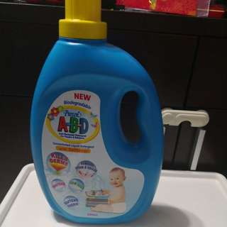 Pureen biodegradable baby anti bacterial detergent