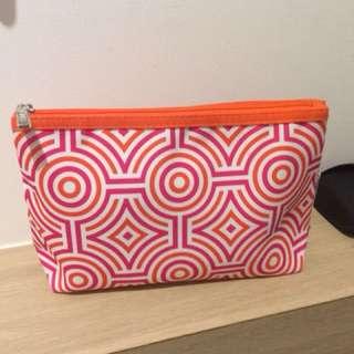 Clinique Jonathan Adler cosmetics bag purse