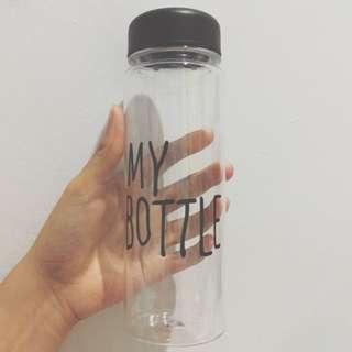 tumblr bottle transparan murah
