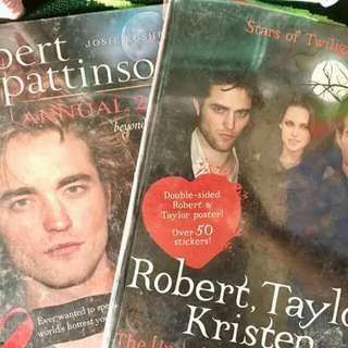 Twilight Books Hard Bound 400 both