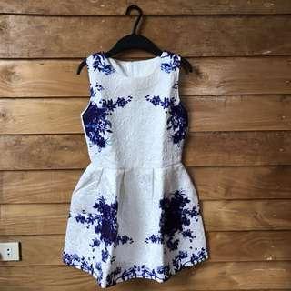 Semi Formal Embossed Dress