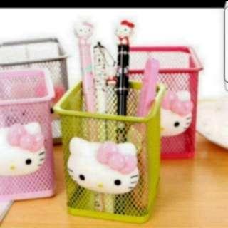 In Stock Hello Kitty Stationery Holder Pen Holder