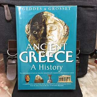 # Highly Recommended《Bran-New + Hardcover Imported》Ancient Greece A History : The achievement in Greek art, literature and philosophy examined in their historical context.