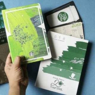 STARBUCKS PLANNER (Green)