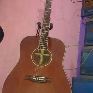 Michael Kelly acoustic guitar