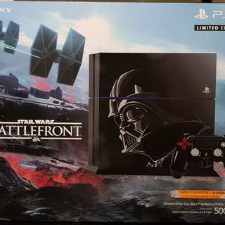 Ps4 Playstation 4 500GB Star Wars Battlefront Limited Edition