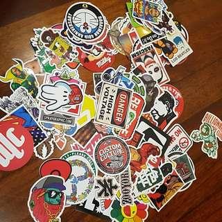 127 Sticker bomb
