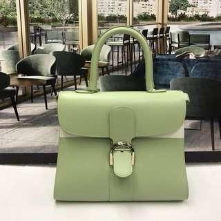 Delvaux Brillant MM Two Tone Bag