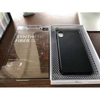 Iphone X case Nilkin Synthetic Fiber - NEW