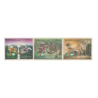 Malaysia 2017 100th Anniversary of Oil Palm Industry set of 3V Mint MNH SG #2221-2223