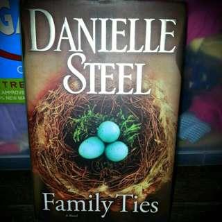 Family Ties By Danielle Steel HARDBOUND