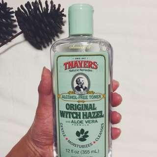 Thayers, Original Witch Hazel with Aloe Vera Formula [Alcohol-Free Toner], 12 fl oz [355 ml]