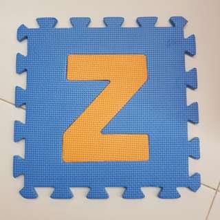 Puzzle mat floor mat