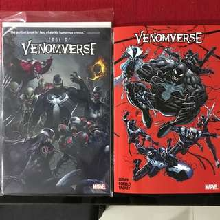 Marvel Comics: Edge of Venomverse and Venomverse TPB