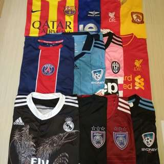 Soccer jersey big clearance sale