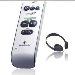 Bellman Audio 私人傳話器/助聽器