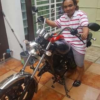 Granstar 175cc Motorbike