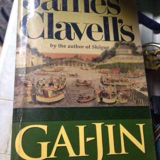 Gai-Jin by James Clavell best seller
