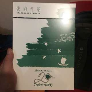 Starbucks 2018 Planner Large - Green
