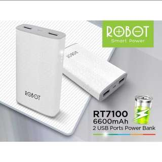 Powerbank Robot RT7100 6600mAh