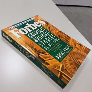 Forbes Greatest Business Stories of All Time. Author: Daniel Gross, 1996