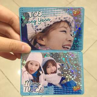 Twice yes card $10/2