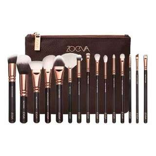Zoeva Brushes with Pouch